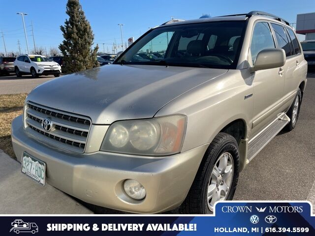 2002 Toyota Highlander V6 Holland MI