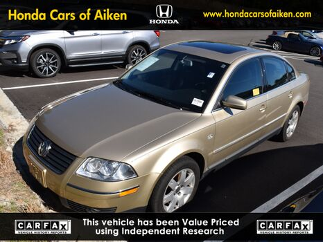 2002_Volkswagen_Passat_GLX_ Aiken SC