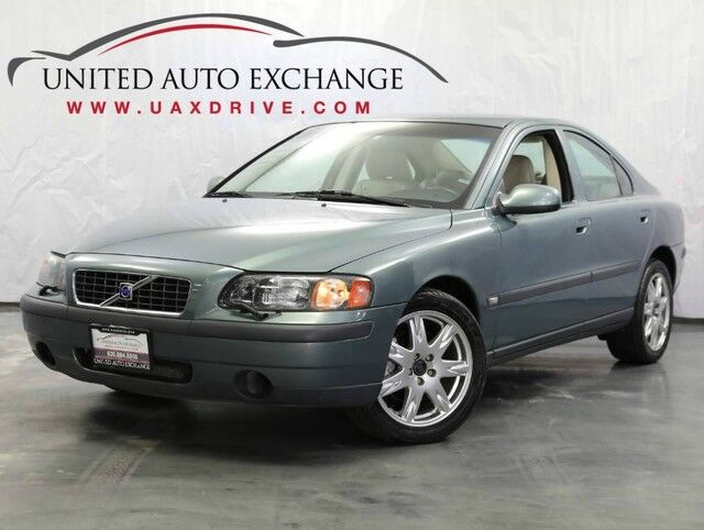 2002 Volvo S60 2.4L 5-Cyl Engine AWD w/ Sunroof, Power & Heated Seats Addison IL
