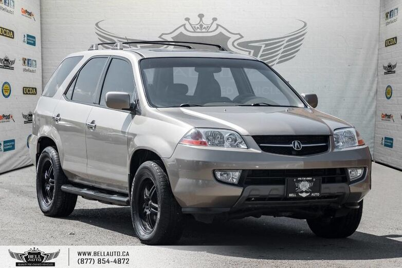 2003 Acura MDX AWD, SUNROOF, LEATHER, HEATED & MEMORY SEATS Toronto ON