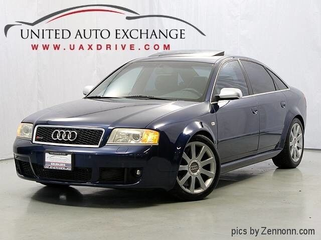 2003 Audi RS6 4.2l Quattro AWD w/ Xenon Headlamps, Sunroof, Rear Parking Aid & Bose Premium Sound System w/subwoofer Addison IL