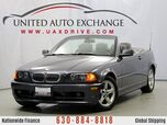 2003 BMW 3 Series 325Ci Convertible RWD Fully Lined Soft Top w/rear Glass Window
