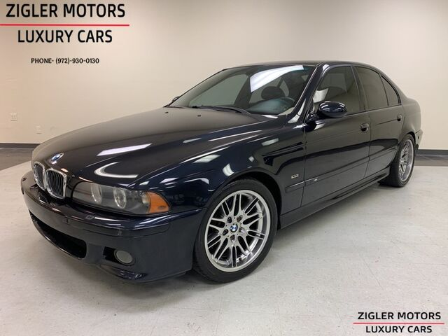 2003 BMW M5 6-Speed Manual Serviced Clean Carfax. Addison TX
