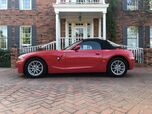 2003 BMW Z4 2.5i 2-OWNERS BEAUTIFUL RED 53K ACTUAL LIKE NEW CONDITION