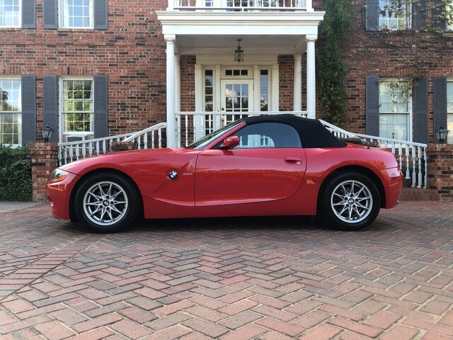 2003 BMW Z4 2.5i 2-OWNERS BEAUTIFUL RED 53K ACTUAL LIKE NEW CONDITION Arlington TX