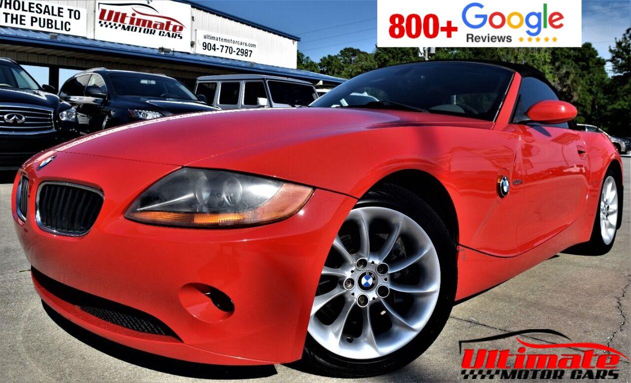 2003 BMW Z4 2.5i 2dr Roadster Saint Augustine FL