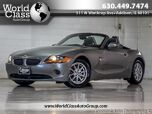 2003 BMW Z4 2.5i LEATHER CONVERTIBLE ONE OWNER