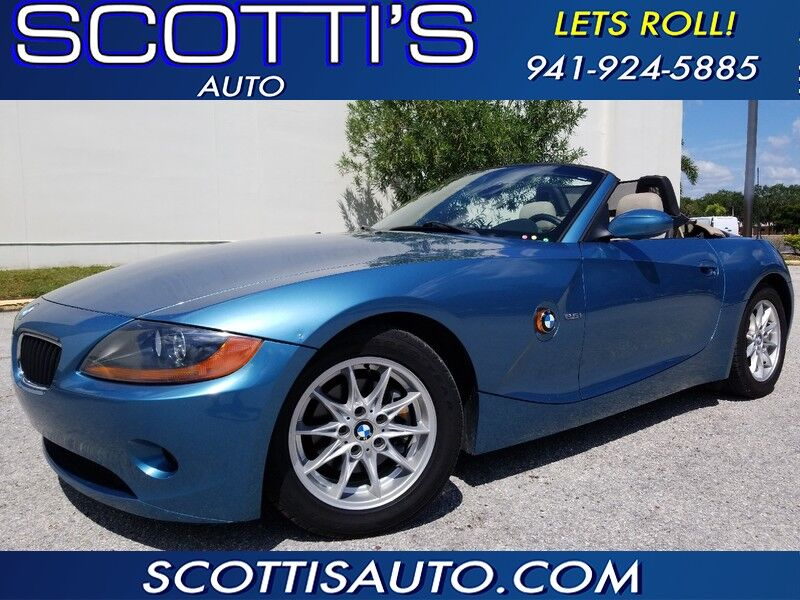 2003 BMW Z4 ONLY 61K MILES~ 6 CYL~ AUTO~ GREAT COLOR~ CLEAN CARFAX~ POWER TOP!!