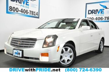 Cadillac CTS V6 LEATHER HEATED SEATS W DRIVER MEMORY ALLOY ONSTAR TINT 2003