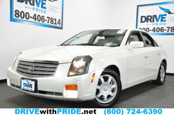 2003 Cadillac CTS V6 LEATHER HEATED SEATS W DRIVER MEMORY ALLOY ONSTAR TINT Houston TX
