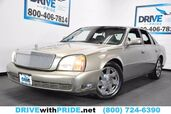 2003 Cadillac DeVille 4.6L V8 ONSTAR LEATHER TRI ZONE AC WOOD TRIM CHROME