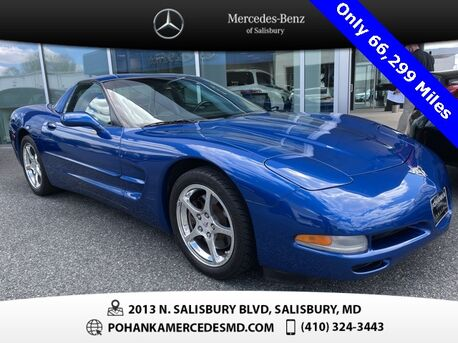 2003_Chevrolet_Corvette_** 50th ANNIVERSARY ** Only 66,299 Miles **_ Salisbury MD