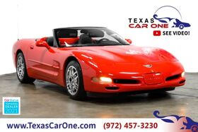 2003_Chevrolet_Corvette_50TH ANNIVERSARY AUTOMATIC HEADUP DISPLAY LEATHER SEATS BOSE SOUND SYSTEM_ Carrollton TX