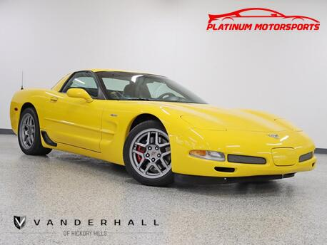 2003_Chevrolet_Corvette Z06_1 Owner Wow 10k Miles 2 Keys Books Window Sticker Still Smells New_ Hickory Hills IL