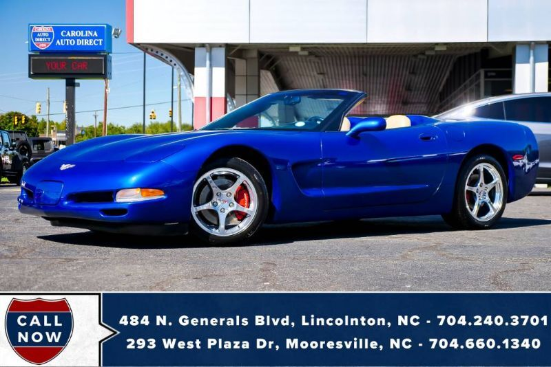 2003 Chevrolet Corvette w/ Head-Up Display & Borla Mufflers Mooresville NC