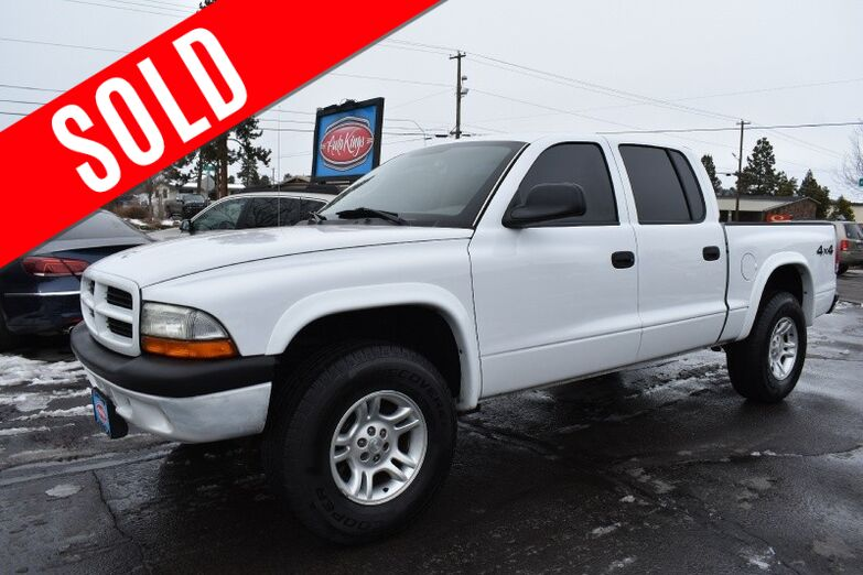 2003 Dodge Dakota Quad Cab 4WD Sport Bend OR