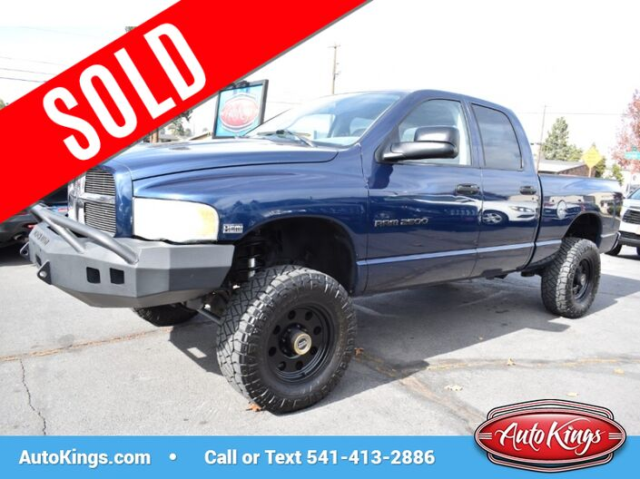 2003 Dodge Ram 2500 Laramie 4WD Quad Cab Bend OR