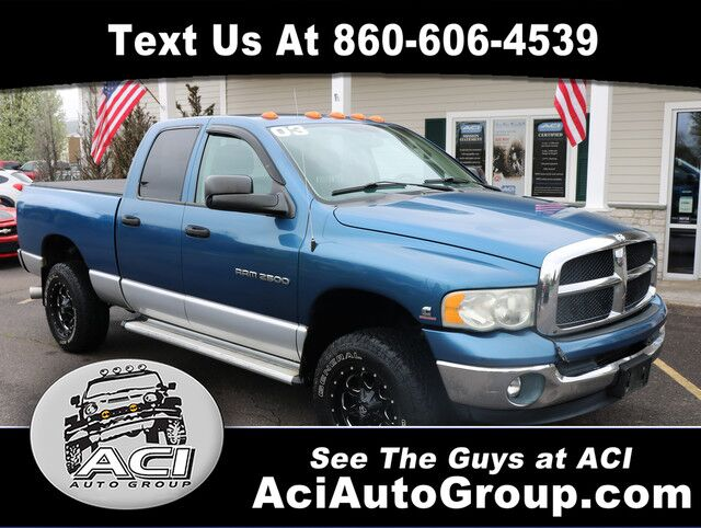 2003 Dodge Ram 2500 SLT East Windsor CT