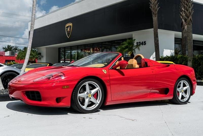 2003_Ferrari_360_Spider_ Palm Beach FL