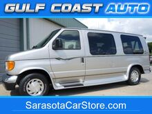 2003_Ford_E150_CONVERSION VAN LEATHER SOFA 1 OWNER DVD TV RUNS GREAT !!_ Sarasota FL