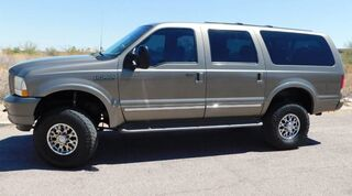 Ford EXCURSION 4X4 LIMITED PKG 4 LIFT 35s LOADED POWERSTROKE DIESEL SERVICED INSPECTED EXTRA CLEAN 2003