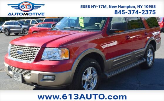 2003 Ford Expedition Eddie Bauer 4WD - 3rd Row Seating 8 Passenger Leather Seats Ulster County NY