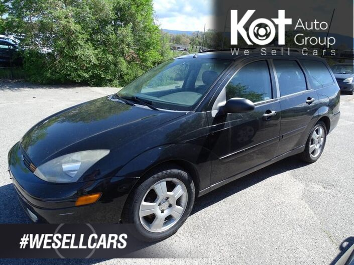 2003 Ford Focus ZTW, Manual Transmission, No Accidents! Heated Leather Seats, Sunroof, Low KM's Kelowna BC
