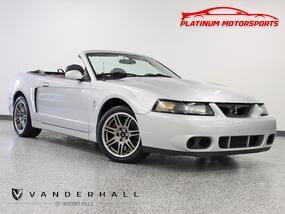 Ford Mustang SVT Cobra 10th Anniv 3 Owner Rare Terminator Two Tone Interior Loaded 2003
