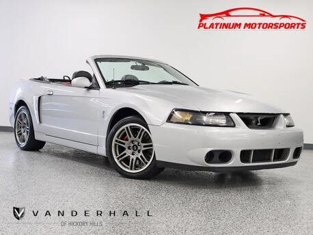 2003_Ford_Mustang SVT Cobra 10th Anniv_3 Owner Rare Terminator Two Tone Interior Loaded_ Hickory Hills IL