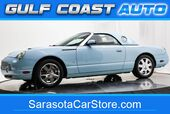 2003 Ford THUNDERBIRD PREMIUM LEATHER HARD TOP LOW MILES COLD AC WHEELS