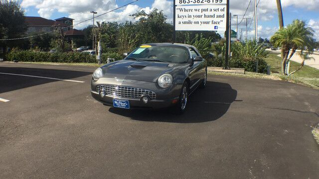 2003 Ford Thunderbird Convertible Deluxe/Premium