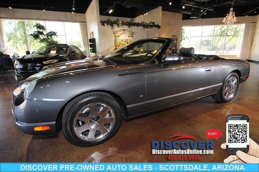 2003 Ford Thunderbird Convertible Premium Edition Scottsdale AZ