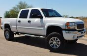 2003 GMC 2500HD SIERRA 4x4 SLT CREW SB LOADED W/ OPTIONS 6.6 DURAMAX DIESEL ALLISON TRANS LIFT/WHLS/TIRES