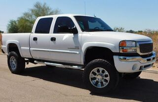 GMC 2500HD SIERRA 4x4 SLT CREW SB LOADED W/ OPTIONS 6.6 DURAMAX DIESEL ALLISON TRANS LIFT/WHLS/TIRES 2003