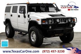 2003_HUMMER_H2_4WD AUTOMATIC LEATHER HEATED SEATS BOSE SOUND TOW HITCH ALLOY WH_ Carrollton TX