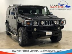 2003_HUMMER_H2_4WD AUTOMATIC SUNROOF LEATHER HEATED SEATS REAR CAMERA BOSE SOUND BLUETOOTH_ Carrollton TX