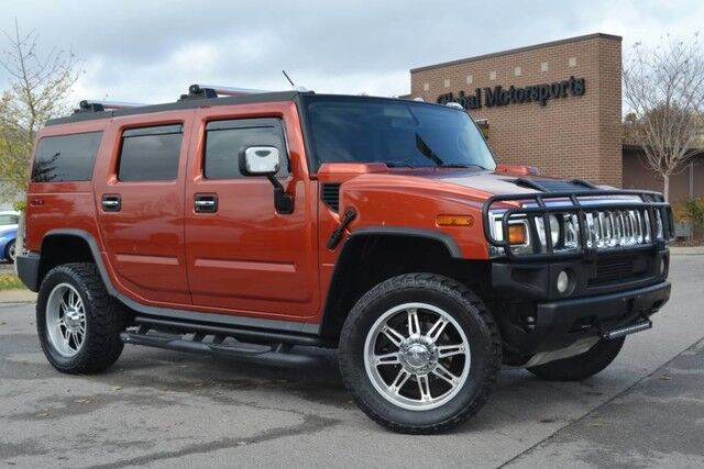 2003 HUMMER H2 4X4/Navigation/Rear View Cam/3rd Row Seating/Sunroof/Brushguard/Running Boards/So Cool! Nashville TN