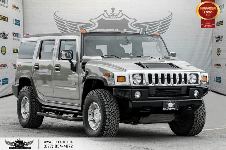2003 HUMMER H2 AWD, SUNROOF, DVD, BOSE SOUND, LEATHER, HEATED SEAT Toronto ON