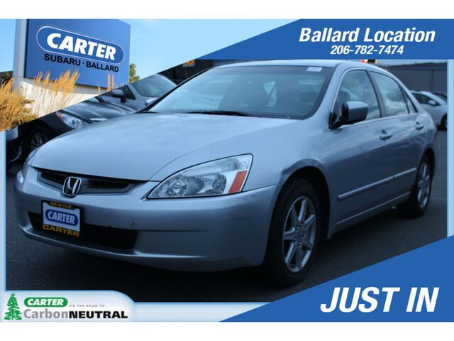 2003 Honda Accord EX V6 with Leather EX V6 w/L Seattle WA