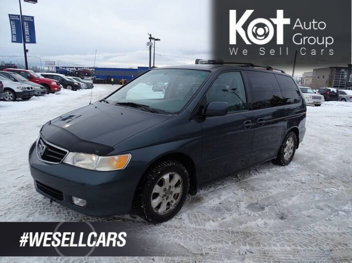 2003 Honda Odyssey EX Heated Leather Seats, Tow Package Kelowna BC