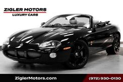 2003_Jaguar_XKR_V8 Supercharged Convertible Low Miles Clean Carfax_ Addison TX