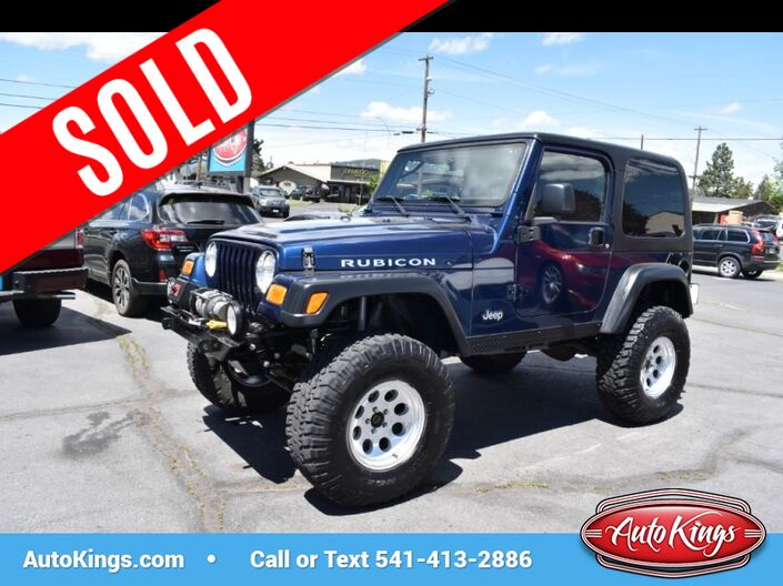 2003 Jeep Wrangler 2dr Rubicon Bend OR