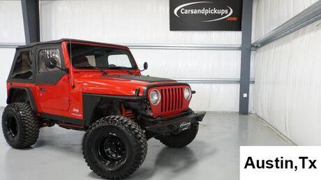 2003 Jeep Wrangler SE Dallas TX
