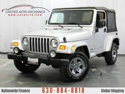 2003_Jeep_Wrangler X_4.0L V6 Engine 4WD Soft Top_ Addison IL