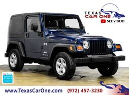 2003_Jeep_Wrangler_X 4WD AUTOMATIC HARD TOP CONVERTIBLE ALLOY WHEELS TOWING HITCH_ Carrollton TX
