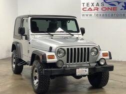 2003_Jeep_Wrangler_X 4WD AUTOMATIC HARD TOP CONVERTIBLE PIONEER RADIO AUX INPUT_ Carrollton TX