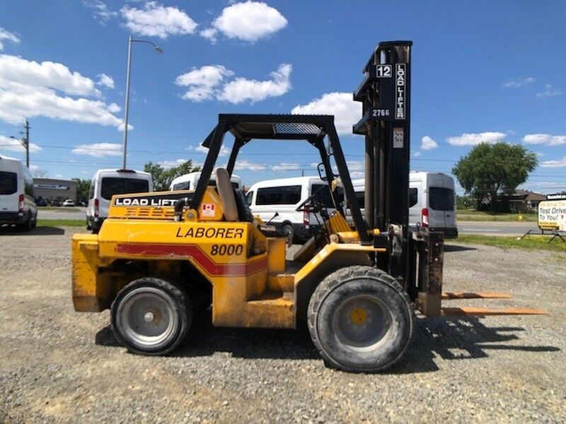 2003 LOADLIFTER LL8000 7350 Lb Rough Terrain FORKLIFT Greater Sudbury ON