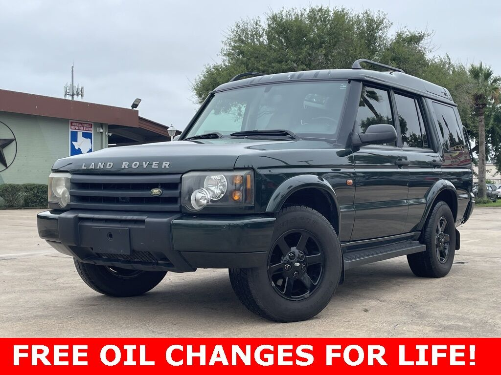 2003_Land Rover_Discovery_S_ Houston TX