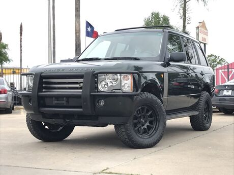 2003 Land Rover Range Rover HSE Houston TX