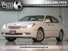 2003_Lexus_ES 300_ONE OWNER LEATHER SEATS WOOD GRAIN INTERIOR SUN ROOF ALLOY WHEELS_ Chicago IL